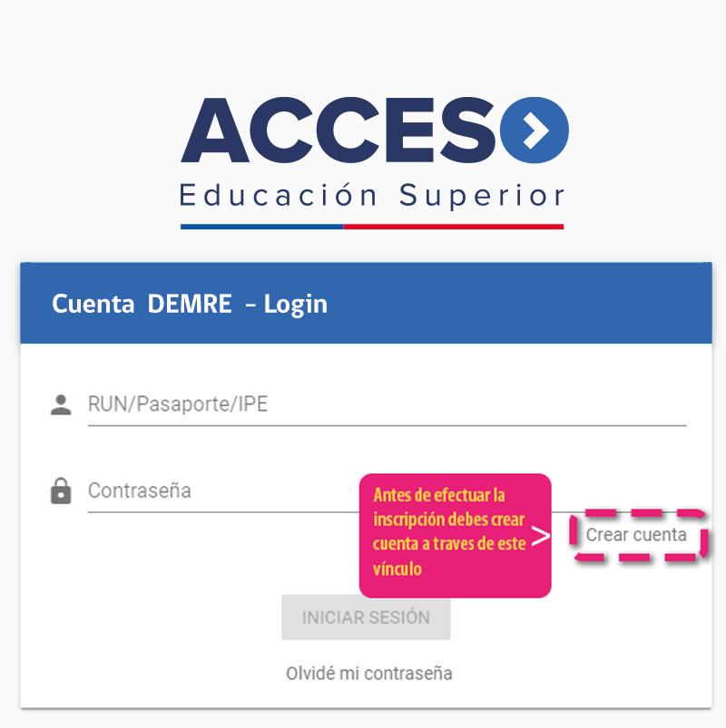 Creación de Usuario - Acceso